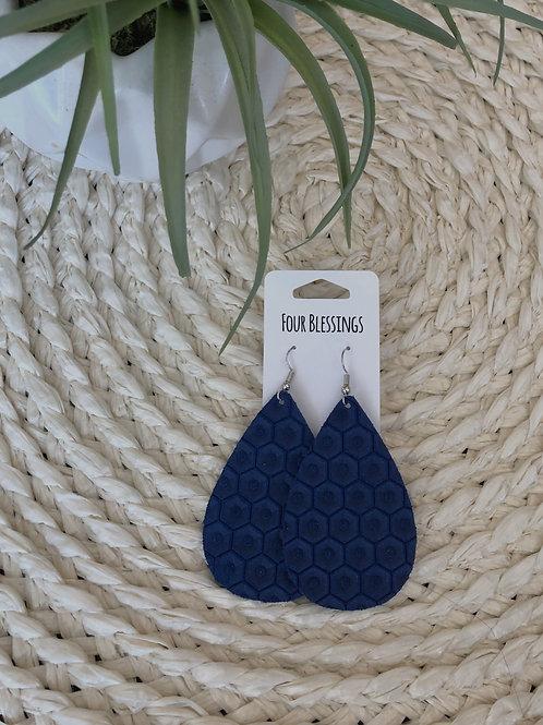 Royal Blue Honeycomb