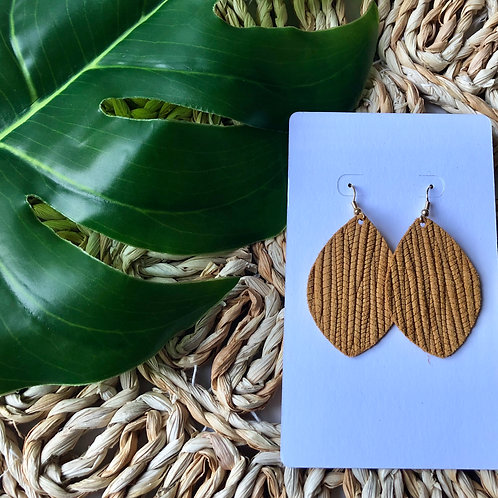 Mustard Palm Leaf
