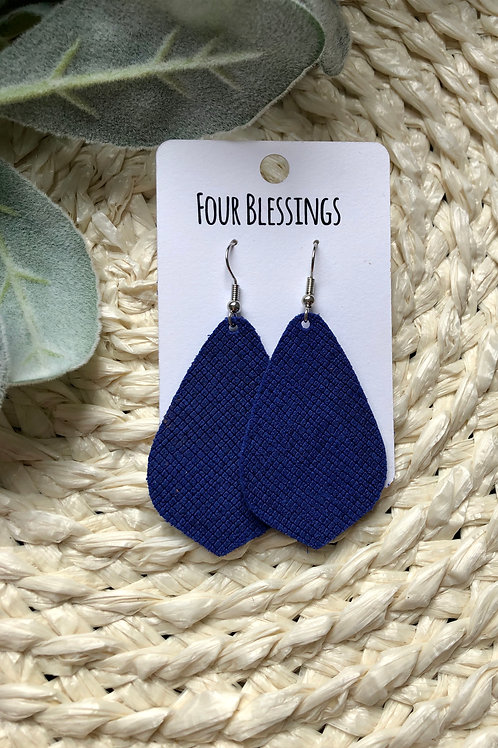 Royal Blue Dropdown Teardrop