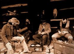 Band playing poker