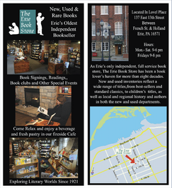 Erie Book Store Logo & Pamphlet