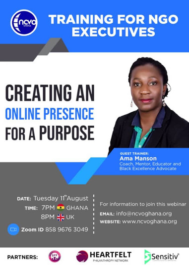 Creating An Online Presence For A Purpose