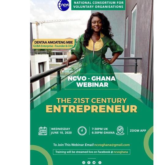 21st Century Entrepreneur Training With Dentaa Amoateng