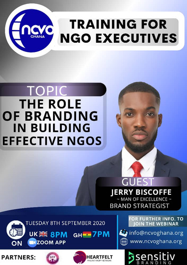 THE ROLE OF BRANDING IN BUILDING EFFECTIVE NGOS