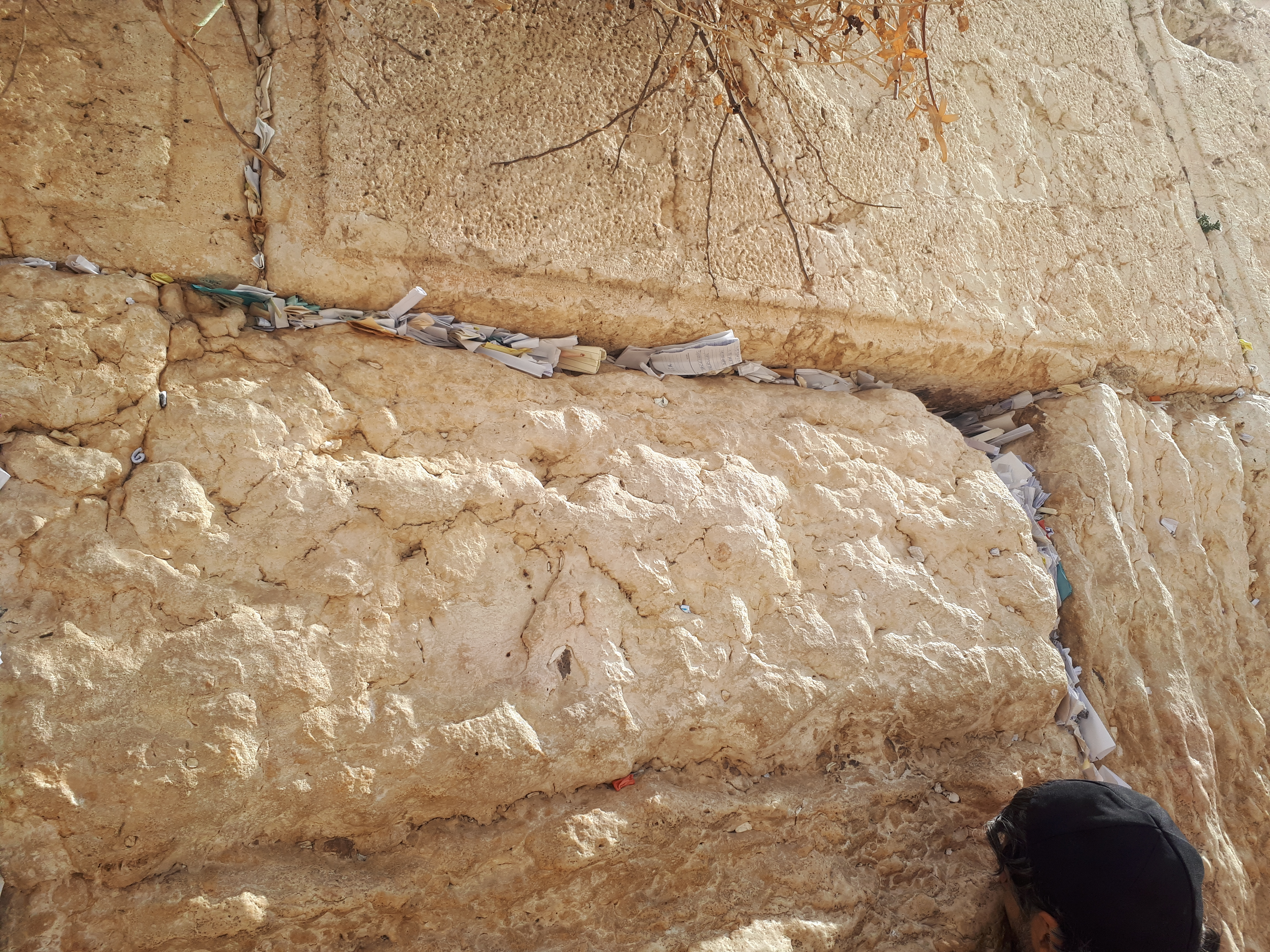 Notes in the Kotel