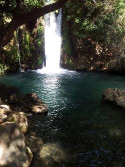 Banias water fall