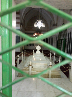 Burial on al-Aksa