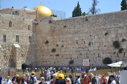 View of the Western Wall