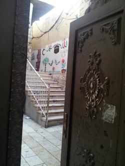 Courtyard in the Muslim Quarter