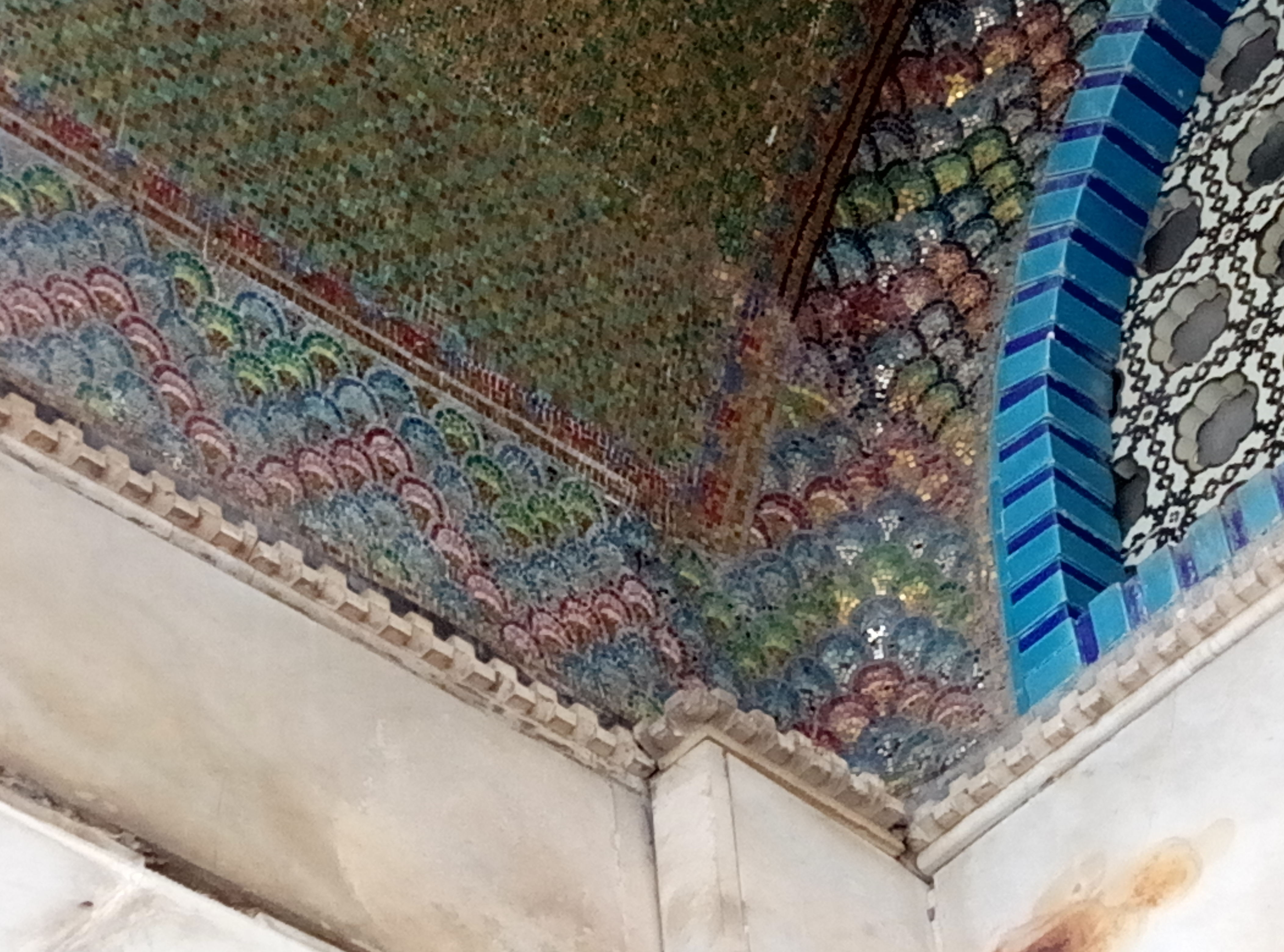 Awnings of the Dome of the Rock