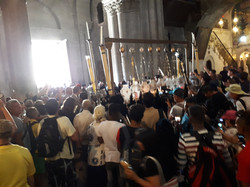 The world at The Holy Sepulchre