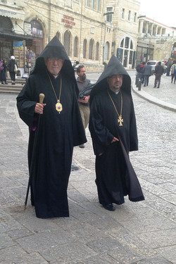 People in the Christian Quarter
