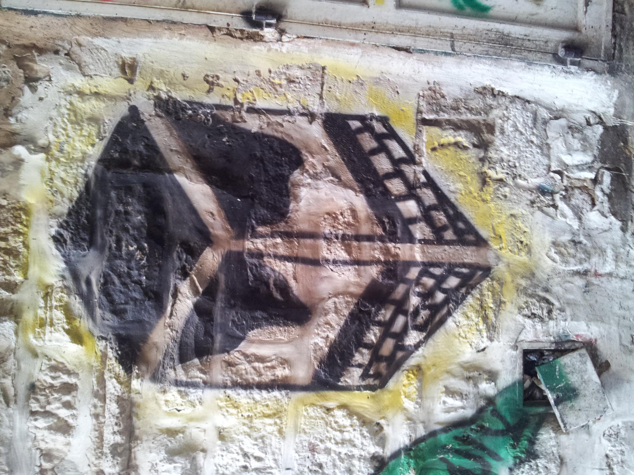 Haj symbols in Jerusalem
