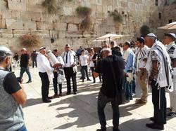 Bar Mitzvah at the Western Wall