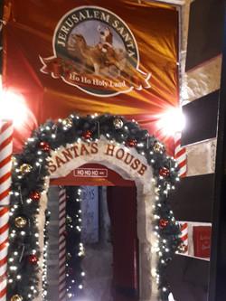 Santa really lives here