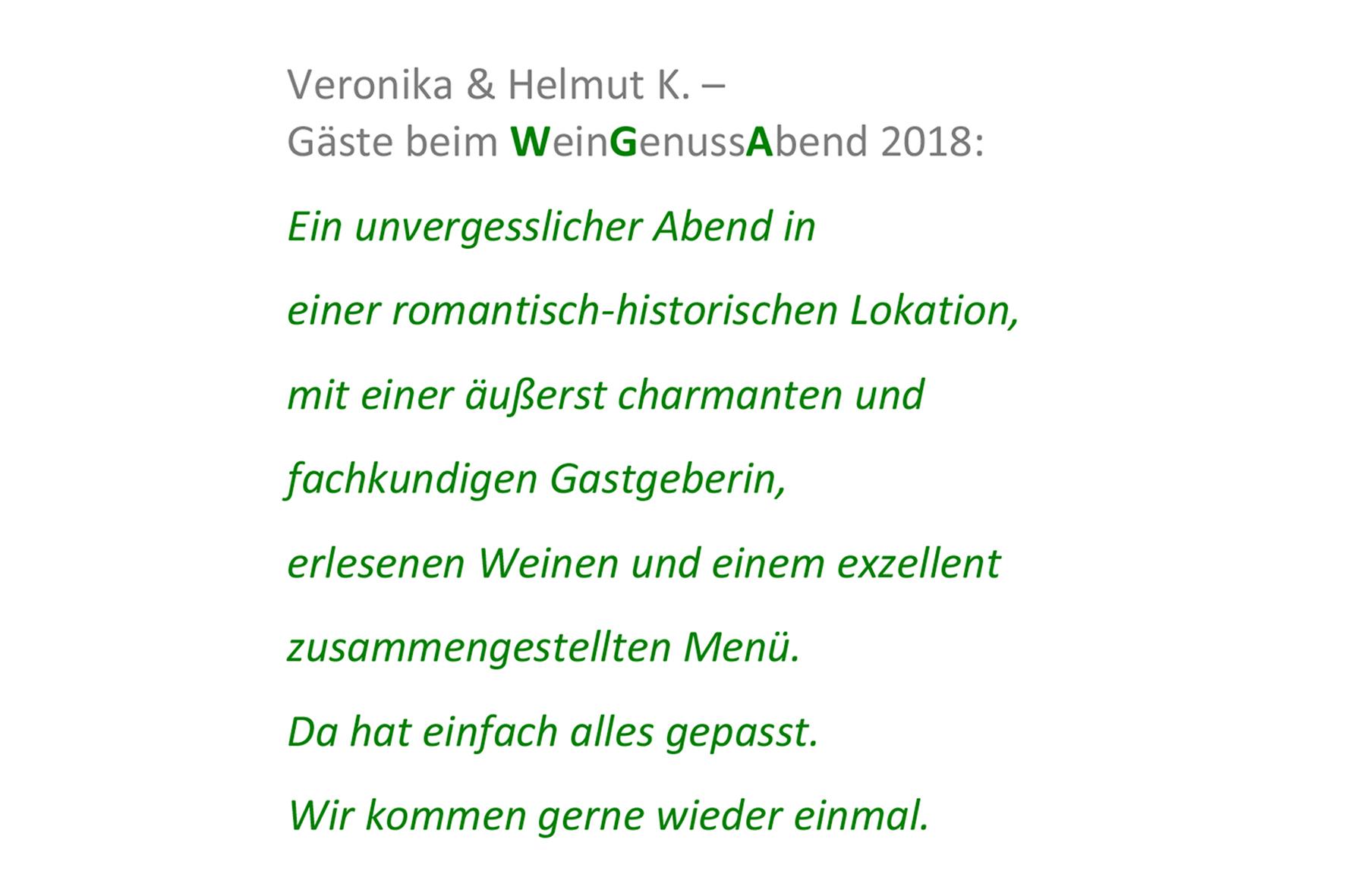 Stimmen_Veronika und Helmut K.