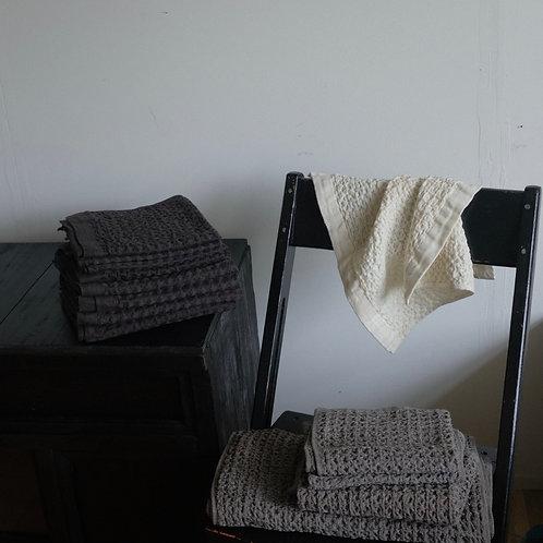 Cotton Linen Waffle Towel