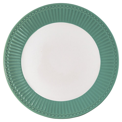 Assiette Alice dusty green Greengate