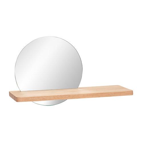 Miroir- étagère Hübsch