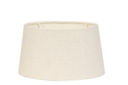 Abat-jour livigno blanc d'oeuf Light & Living
