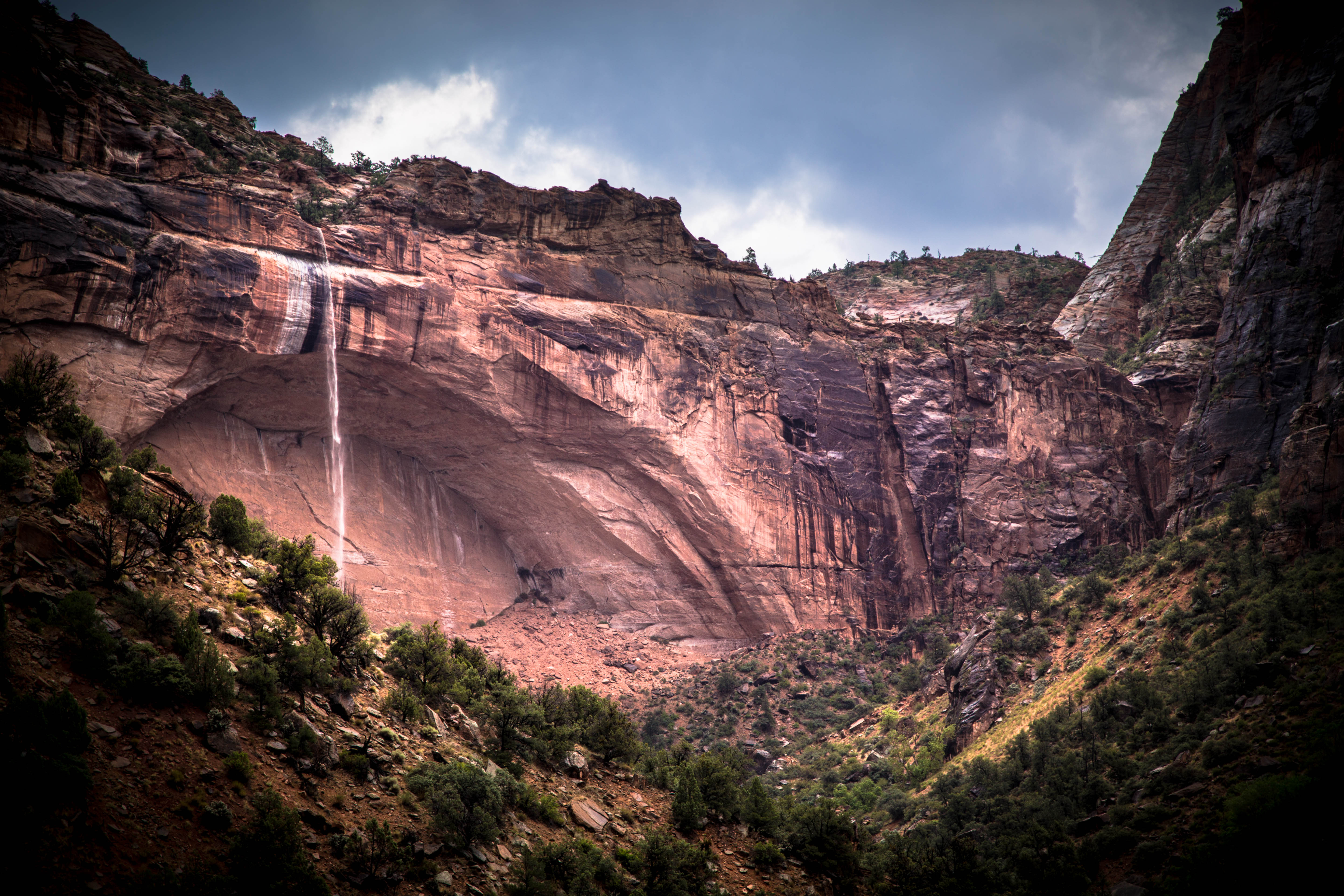 Zion National Park - Flash Fall