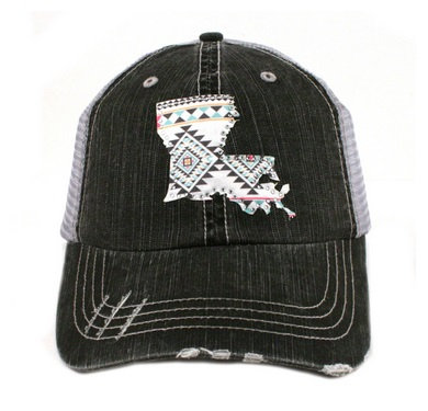 Aztec Louisiana Trucker Hat