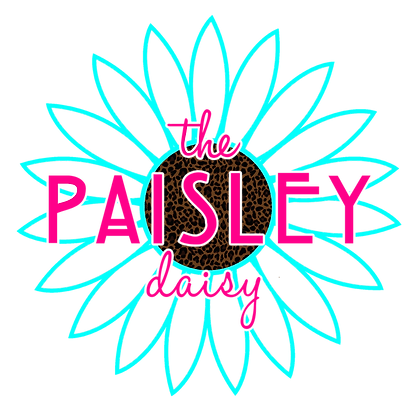 The Paisley Daisy Decals
