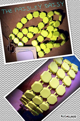 Neon Link Bracelet