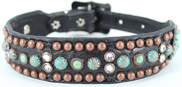 "Heritage Brand ""Sammy"" Handmade Dog Collar"