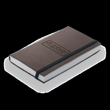 Caderno de Anotação de Bolso com Elástico