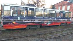 Реклама на трамваях борта