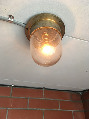 Vintage Brass Wall Light