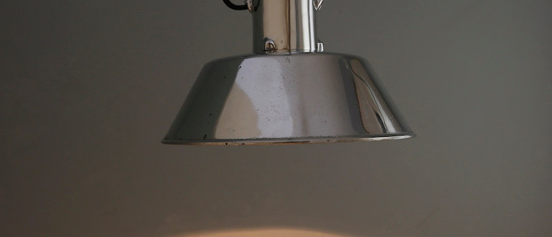 Solid Aluminium Pendant Light