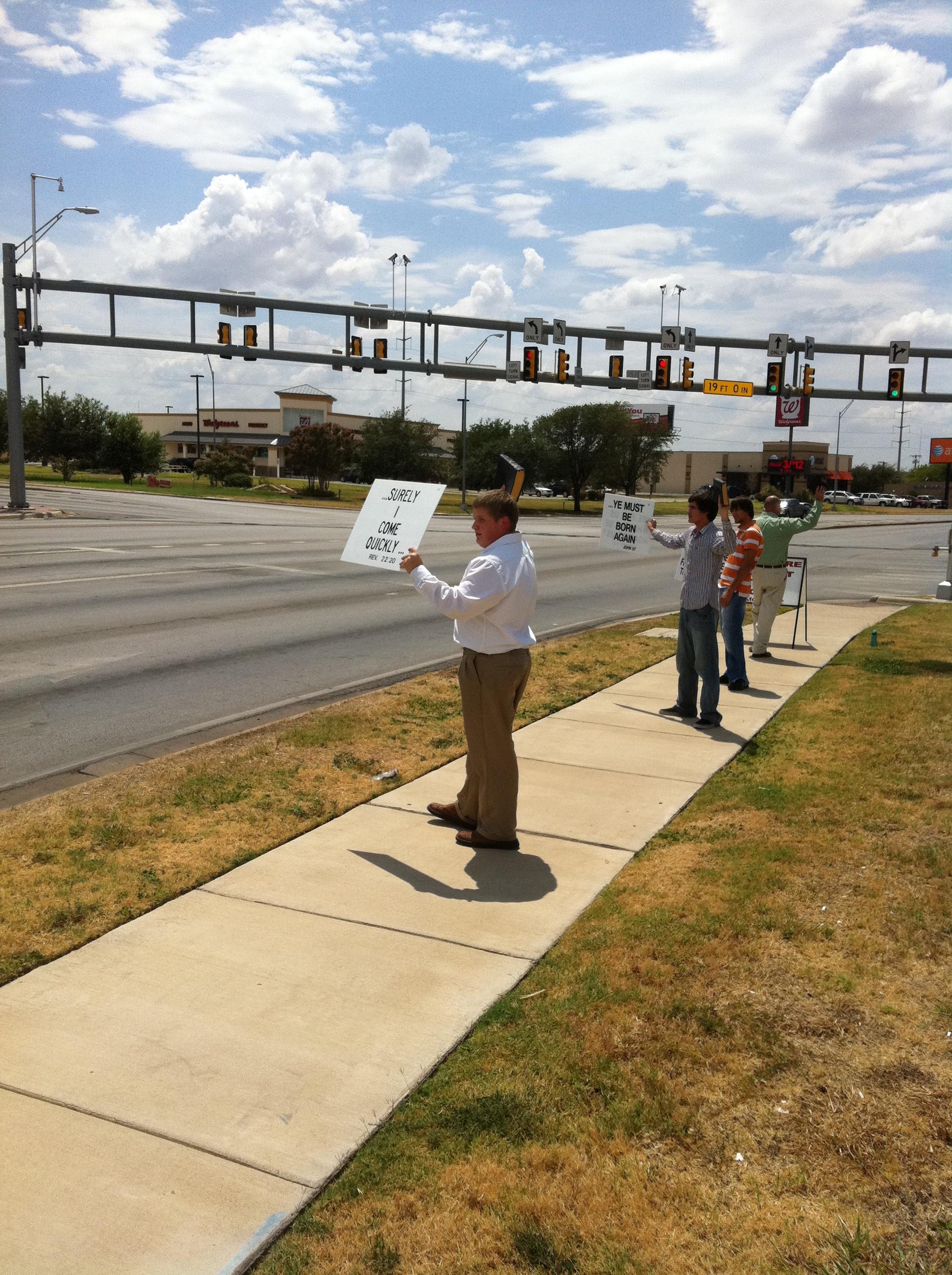 Street Preaching 8-14-11