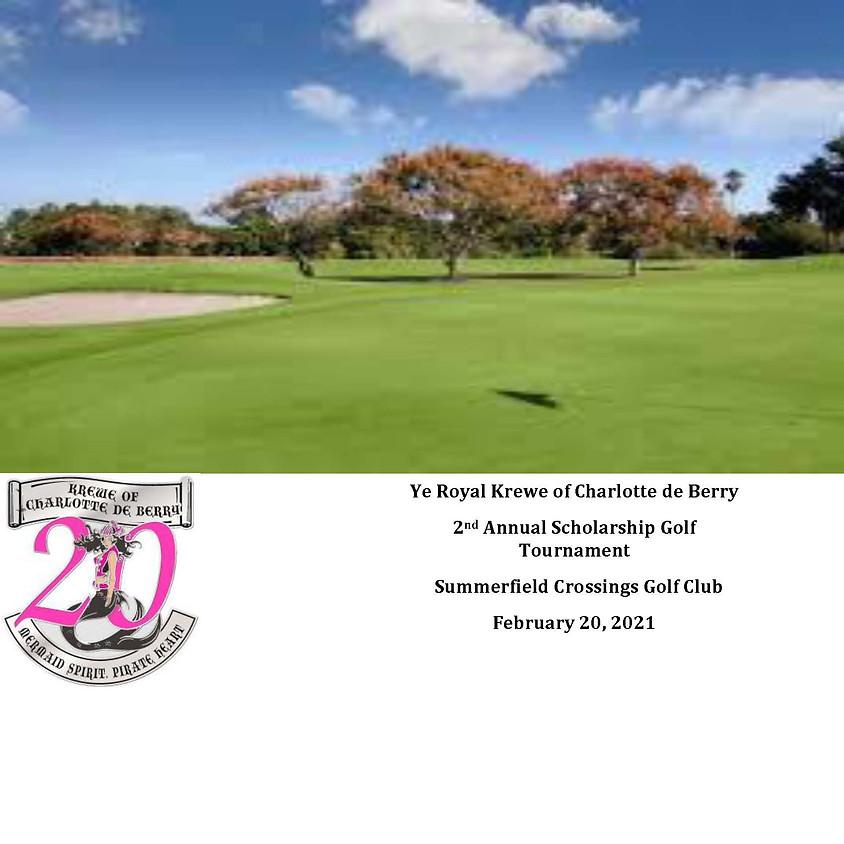 Charlotte de Berry 2nd Annual Scholarship Golf Tournament