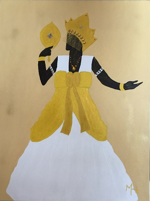 African Goddess or Goddess of Love