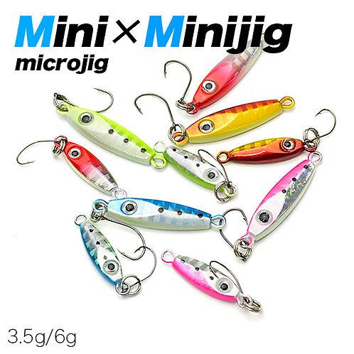ミニミニジグ3.5g/6g