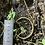 Thumbnail: Spiral infinity brass cuff.