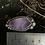 Thumbnail: Star fall amethyst ring size 12