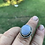 Thumbnail: Blue lace agate sterling silver ring 8.5