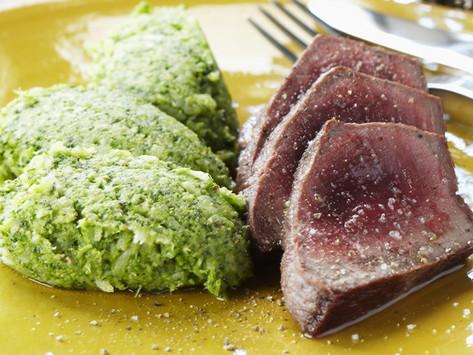Beef Tournedos with Broccoli