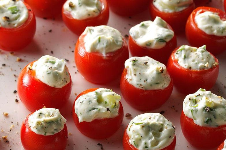 Stuffed Tomatoes a delicious an healthy tapas recipe