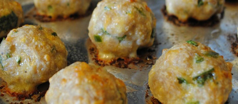 Broccoli Cheddar Guinoa Balls