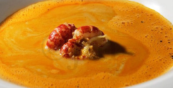 Creamy Crayfish Soup