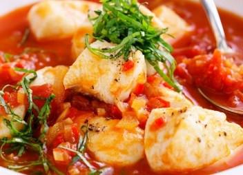 Mediterranean Fish Soup: