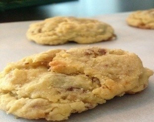 Apple Toffee Cookies