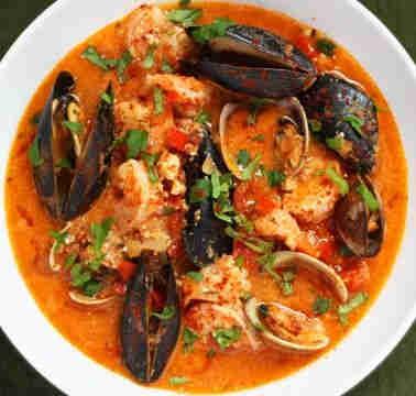 Zarzuela de Mariscos Soup