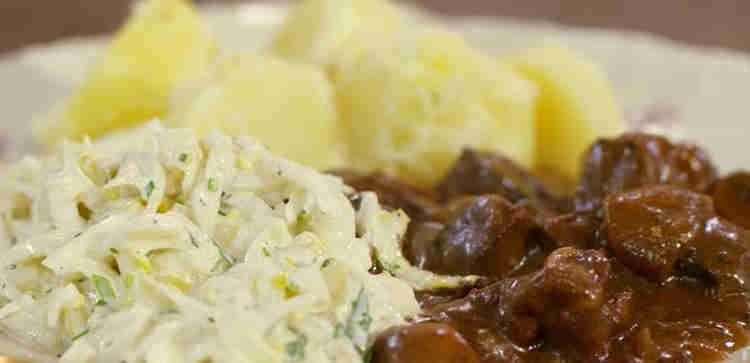 Recipe for Wild Boar Stew with chicory