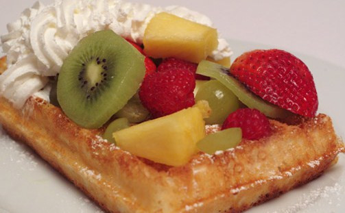 Delicious recipe for Belgian Waffles