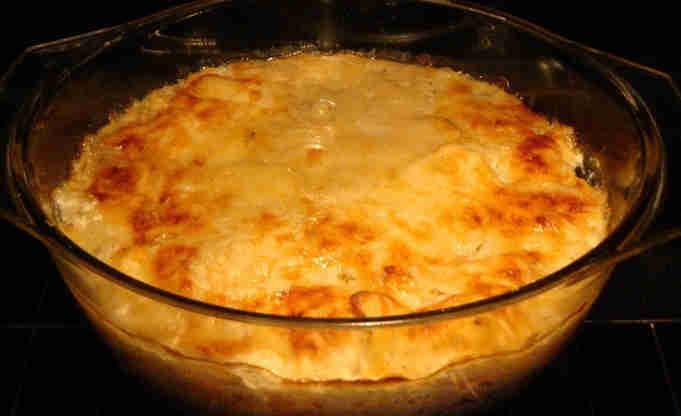 Creamy potato gratin Recipe